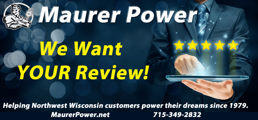 Maurer Power Reviews Siren Wisconsin